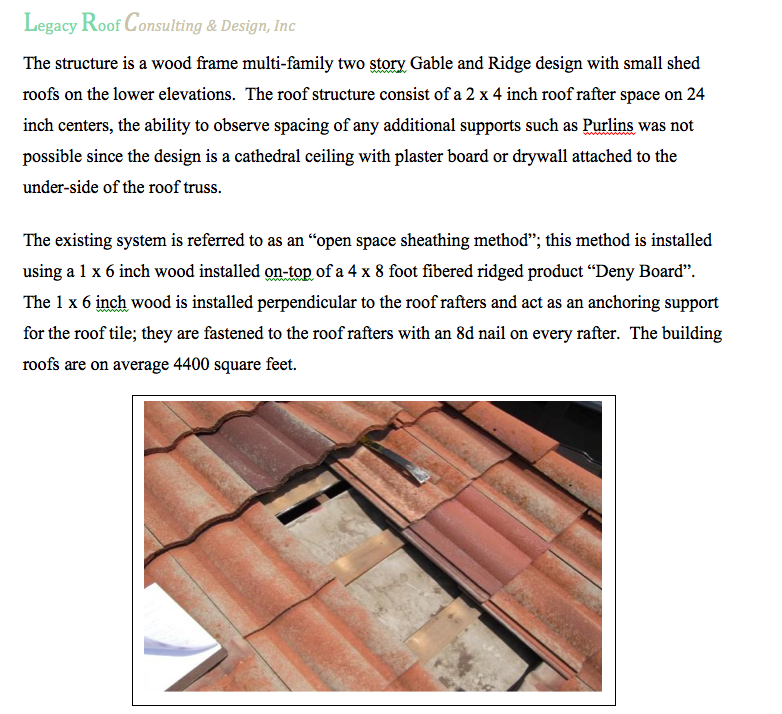 Residential Roof Consulting Tile Roofing Texas